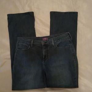 NYDJ petite bootcut jeans